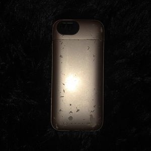 Accessories - Gold mophie Iphone charging case